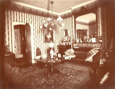 Loudoun House, interior; reception room