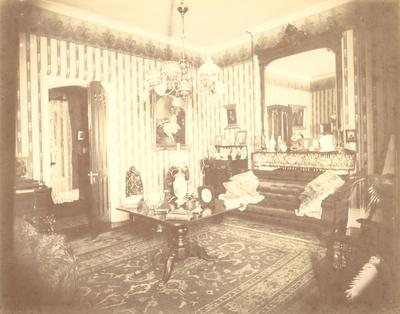 Loudoun House, interior; reception room (duplicate for #1)