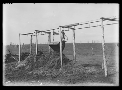 Manure Dump -- litter carrier and track
