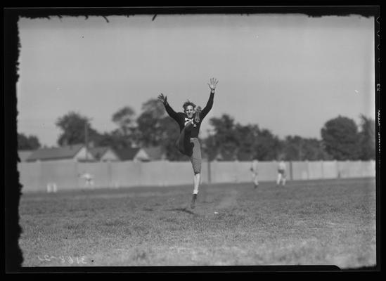 Football Players, #21 (University of Kentucky, Athletic Association)