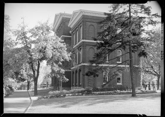 White Hall, (1940 Kentuckian) (University of Kentucky); exterior side view of building
