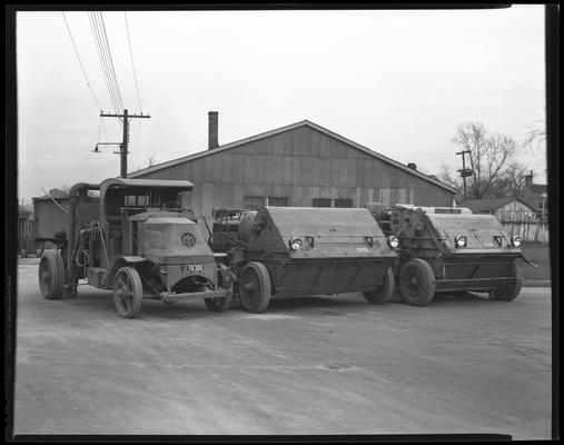 Department of Public Works, City of Lexington; street sweepers