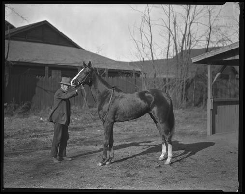 Combs, Leslie J.; horse