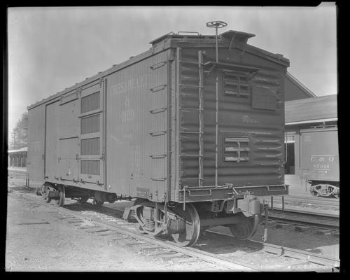 Cheapside and Ohio Railroad; box car