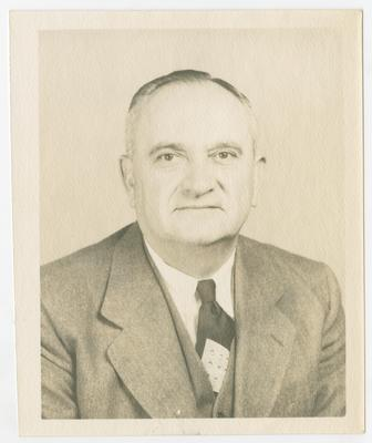 UK Coach Adolf Rupp photograph
