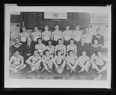 1933 UK Basketball Team
