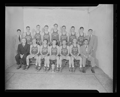 UK Basketball Champion Team
