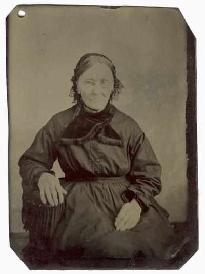 Portrait of Letitia Collins Galbraith, mother of Matilda Galbraith McCord