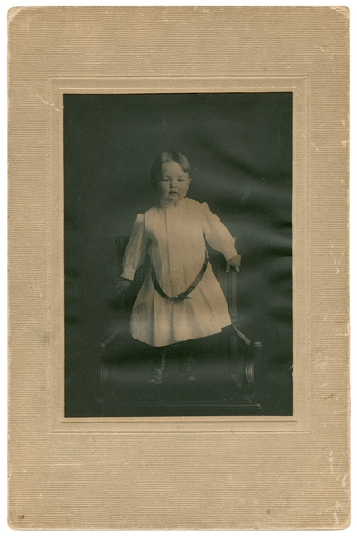 Young boy; noted on back: