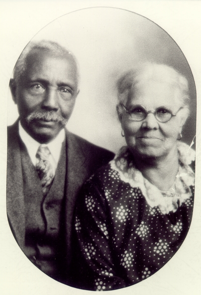 Portrait of Benjamin F. Spencer and his wife, Sue