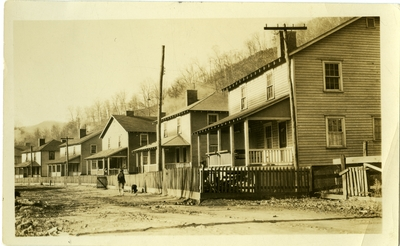 Row of houses.