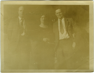 John Dos Passos, Adelaide Walker, and Charles Rumford Walker.