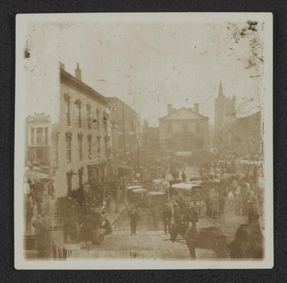 Last slave sale in Lexington, Cheapside