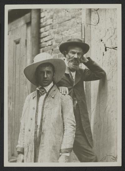 Isaac Jenks (noted photographer front), Thomas Lewinski (noted architect back)