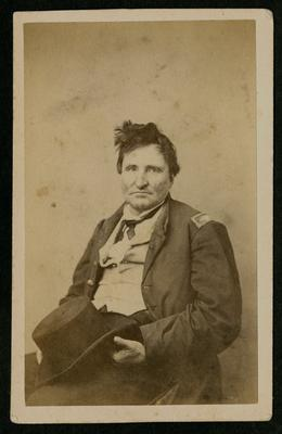Unidentified man in military dress