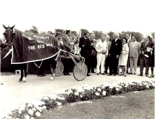 Horses; Harness Racing; Winner's Circle; 1971 Kentucky Futurity