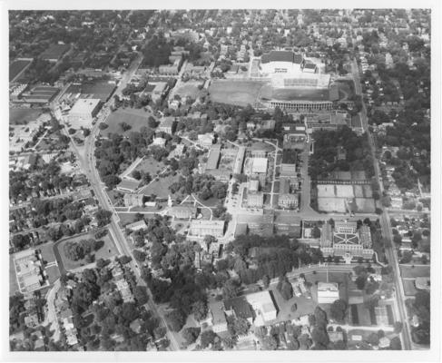 University of Kentucky; University of Kentucky aerial view #3