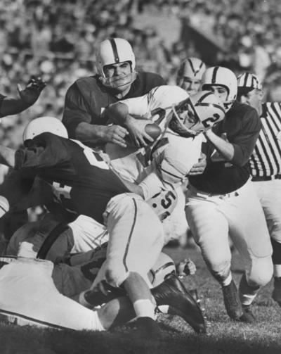 University of Kentucky; Football; Game Scenes; UK vs. Vanderbilt, 1957