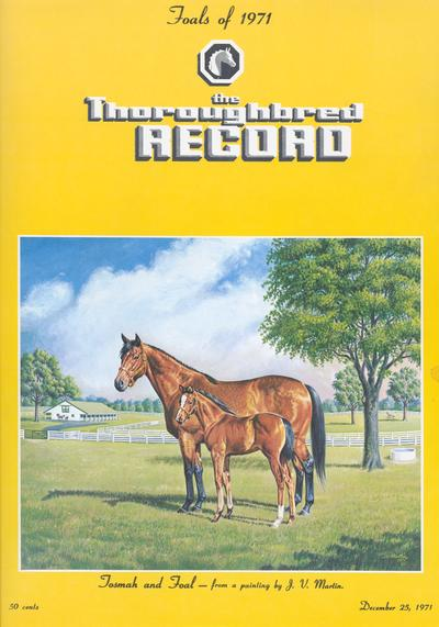 Thoroughbred Record; Thoroughbred Record cover