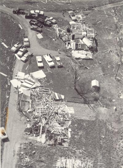 Colombia; 1971 Tornado; Close-up of #731