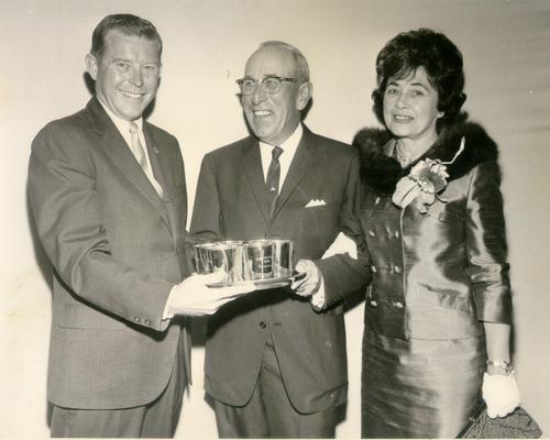Ervin, Frank; Bob Hackett and Mr. and Mrs. Frank Ervin; Orlando 1966
