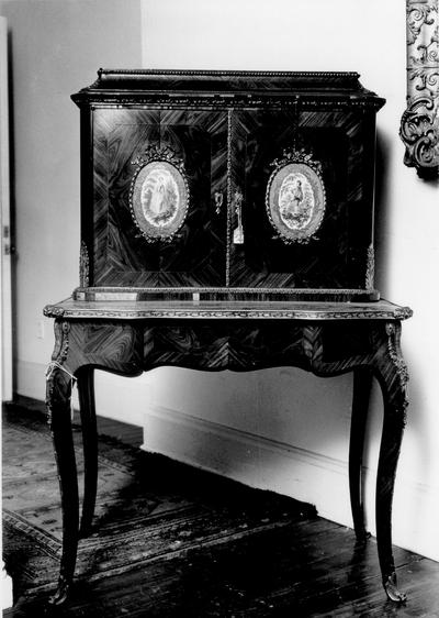 Furniture; 18th century French chest on stand