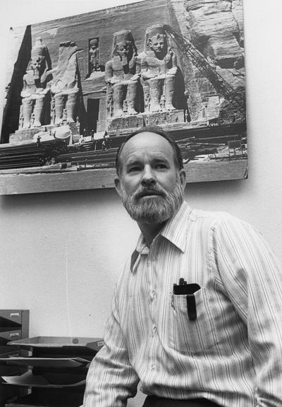 Adams, William Y., Professor of Anthropology and Chair of Department of Anthropology, photographer: University Information Services