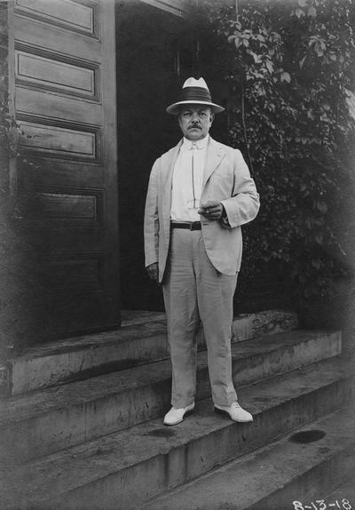 Anderson, F. Paul, Dean of Mechanical Engineering, 1892 - 1918, Dean of Engineering, 1918 - 1934, birth 1867, death April 8, 1934