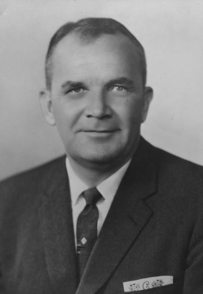 Collier, Blanton Long, Alumnus, Master of Arts, 1947, Head Football Coach, 1954 - 1961, Assistant Coach for Cleveland Browns, 1945 - 1954, Head Coach for Cleveland Browns, 1963 - 1970