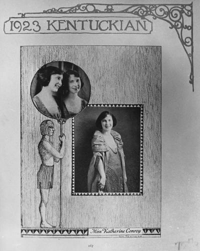 Conroy, Katherine, Alumna,, photograph featured in 1923