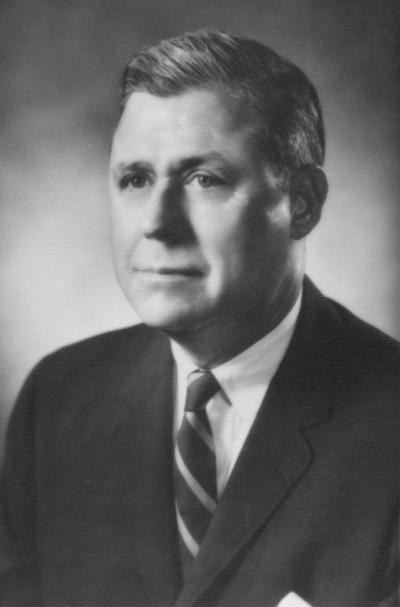Cooper, Richard, Alumnus, Member, Board of Trustees, 1966 - 1977, Director, University Alumni Association, Director, University Development Council