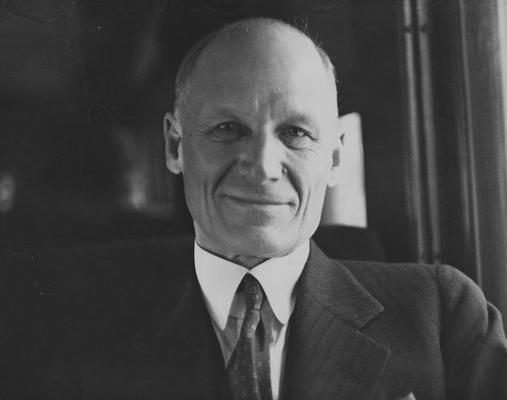 Cooper, Thomas Poe, born 1881, died 1958, Dean, College of Agriculture, Director, Agricultural Experiment Station and Cooperative Extension Service, 1918 - 1951, Acting University of Kentucky President 1940 - 1941