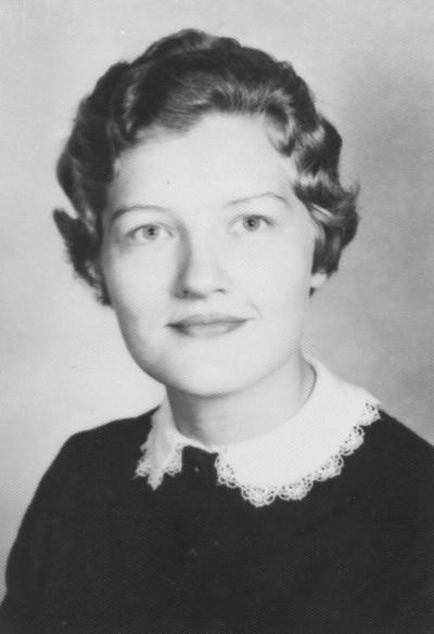 Coppage, Ruby Jean Bozarth, Home Demonstration Agent, Cooperative Extension Service, Department of Agriculture and Home Economics, Warren and Metcalf Counties, 1959 - 1968