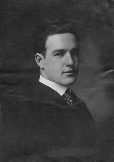 Cullen, Robert Emmett, Alumnus, 1916, Sergeant, Coast Art., A. E. F., died of pneumonia, France, October 15, 1918