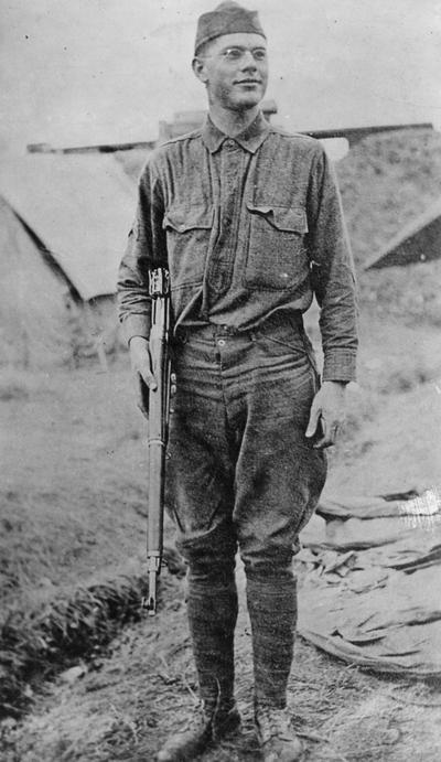 David, Bertie Wilson, Alumnus, Engineering 1920, Sergeant in Ambulance Corps, killed in dressing station, Argonne Forest, France, September 29, 1918