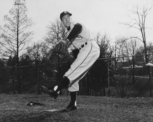 Dawson, Joe, Alumnus,, Member, Baseball Team, photographer:  University of Kentucky Journalism Department
