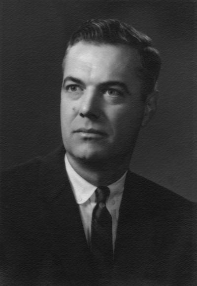 Dickey, Frank G., President, University of Kentucky, 1956 - 1963, Dean, College of Education
