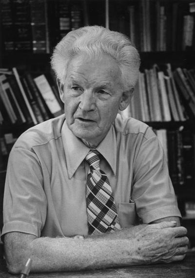 Edney, James M., Professor, Zoology Department, 1947 - 1974