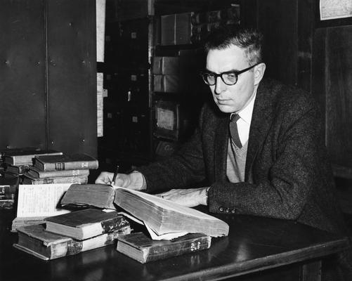 England, James Merton, Professor, History Department, Public Relations Department