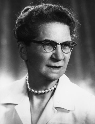Fair, Ethel M., Visiting Professor, Library Science, Photographer: Roland Thompson
