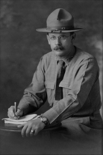 Fairfax, John C., Commandant, 1916 - 1917, Photographer: San Sipier