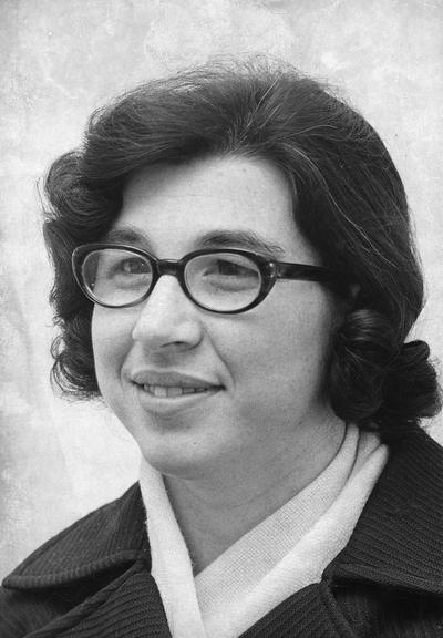 Fanning, Barbara, 1972 initiate, Beta Phi Mu, Library Science Honorary