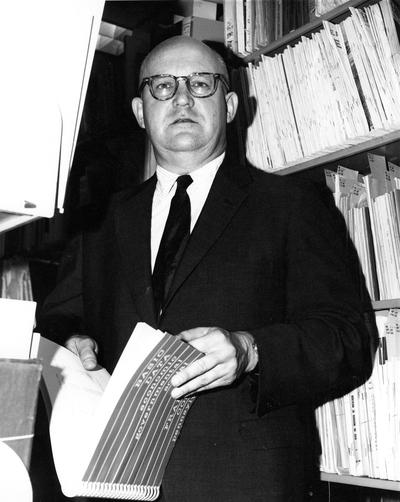 Forth, Stuart, Director of Libraries, 1965 - 1973