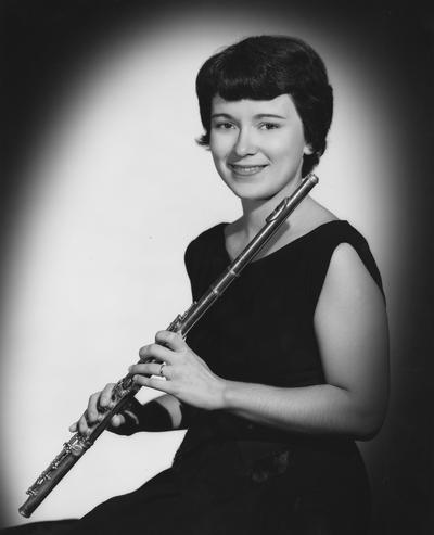 Fouse, Sarah Baird, Instructor of Flute, School of Music, Photographer: Bedford Studio