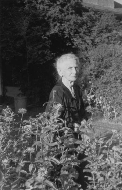 Funkhouser, William D., Photo of Mrs. Hugh Clark Funkhouser, mother of W. D. Funkhouser