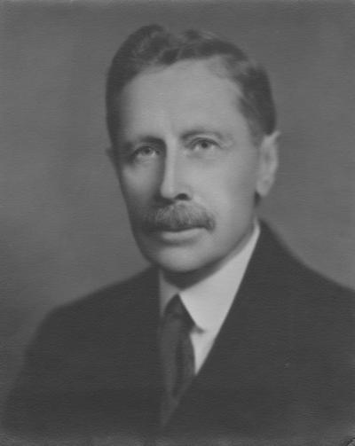 Garman, Harrison, Professor, Zoology and Entomology, 1889 - 1929, Emeritus, 1929 - 1944, birth 1856, death 1944, Bureau of Source Materials in Higher Education photograph