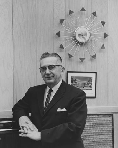 Ginger, Lyman Vernon, Dean, College of Education, 1956 - 1967, Superintendent of Instruction for Kentucky, President of Kentucky Education Association, President and Treasurer of National Education Association, Alumnus, Master of Arts, 1942, Ed.D., 1950