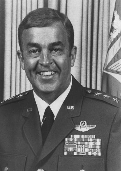 Gregory, Lieutenant General Jack, Alumnus, Bachelor of Science, 1953, Commander, 12th Air Force, UK Alumni Association Hall of Distinguished Alumni