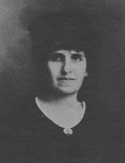 Gunn, Belle Clement, First woman to graduate from the University of Kentucky