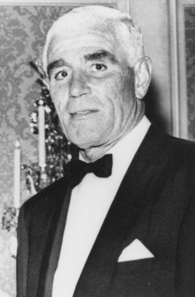 Haggin, Louis L. II, member of UK Development Council, President of Keeneland Association and his great-grandfather was James Ben Ali Haggin